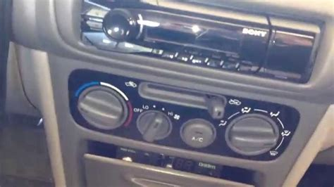 sony dsx a40ui car stereo installation on 1998 1999 2000