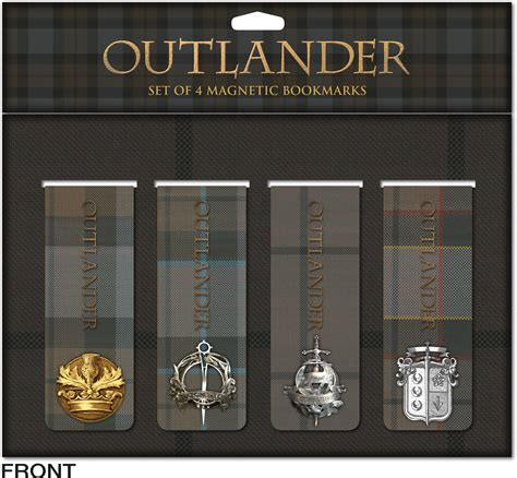 printable outlander bookmarks dec150155 outlander magnetic bookmark set previews world