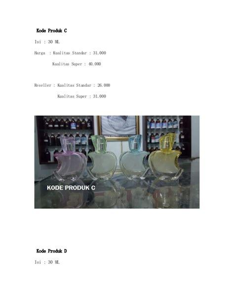 1 Paket Parfum paket parfum refill untuk reseller dan eceran