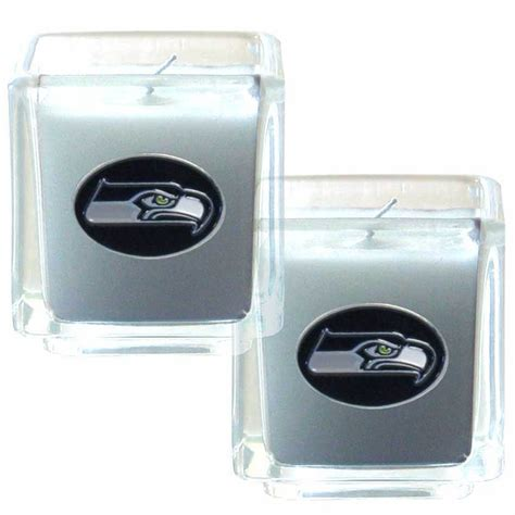 the sports fan zone seattle seahawks scented candle set