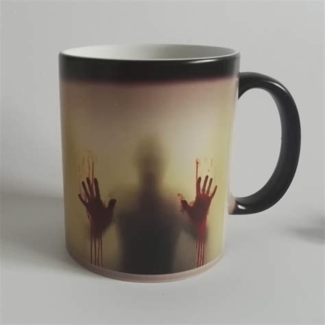 printed color changing mug temperature sensitive mug for gift buy printed color changing mug drop shipping zombie color changing mug cup heat sensitive