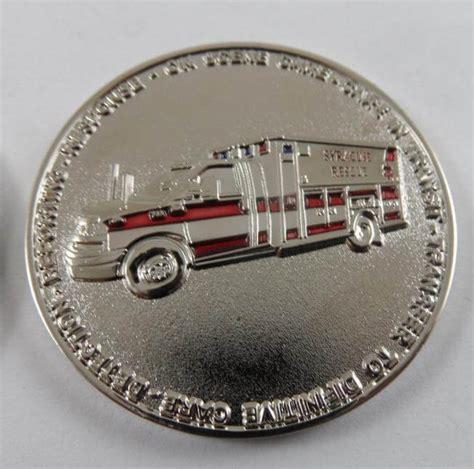 ems challenge coin syracuse ne ems custom ems coin challenge