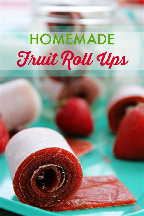 fruit roll up ingredients fruit roll ups recipe