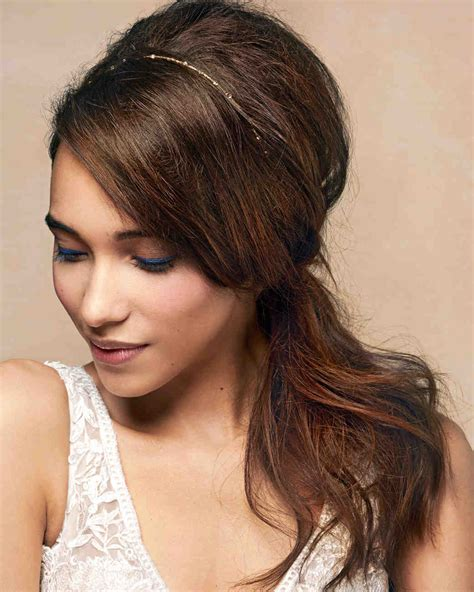 Bridal Hairstyles Side Pony by 15 Fresh And Fabulous Wedding Hairstyles You Can Diy