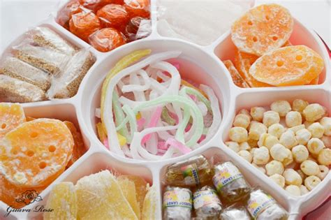 candied lotus seeds new year box guava