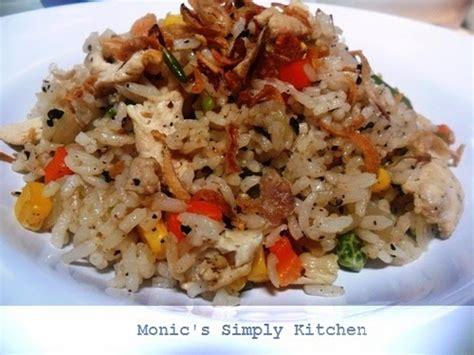 nasi goreng pedas ayam lada hitam monics simply kitchen