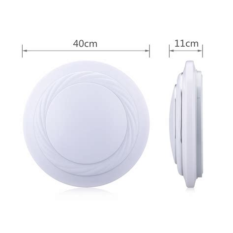 round bathroom light fixtures 24w round led flush mount ceiling light downlight kitchen