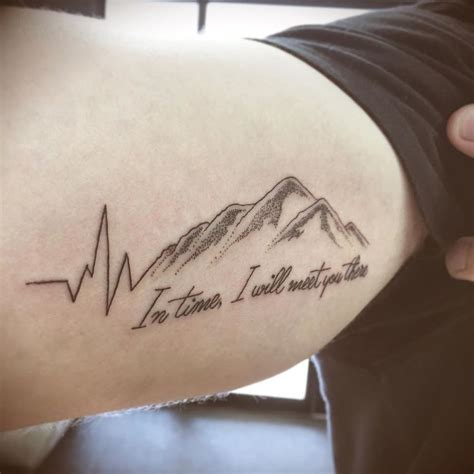 heartbeat tattoo life goes on life goes on tattoo with heart beat www imgkid com the