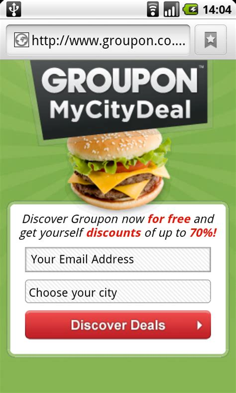 groupon site not mobile mobile badvertising groupon terence s