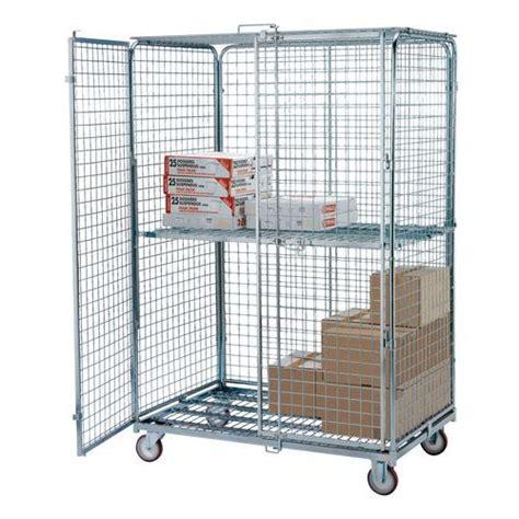 portata container roll container di sicurezza maxiroll base in acciaio