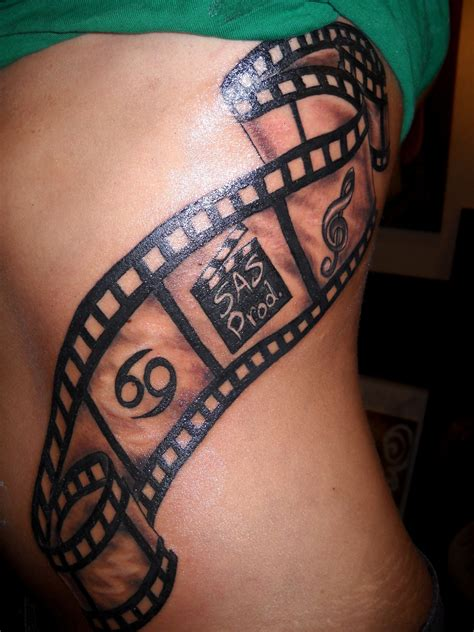 camera film strip tattoo design tattos pinterest