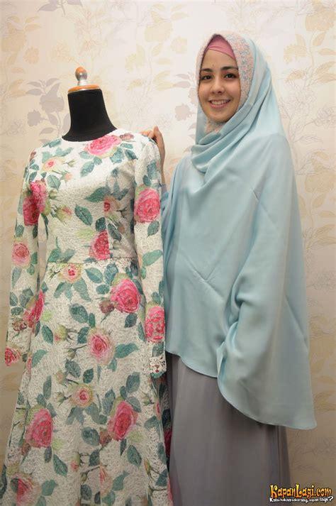 Baju Muslim Syar I Risty Tagor 4 Hari Jelang Nikah Risty Tagor Fitting Gaun Pengantin