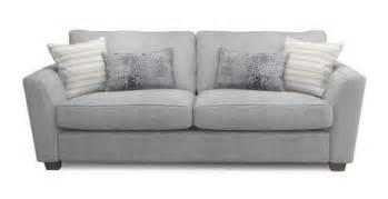 dfs sofa credit sophia 3 seater sofa sophia dfs grey h 91cm x w 224cm