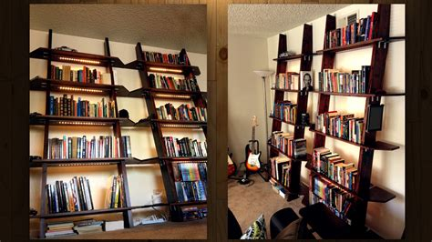 lighted bookshelves these diy lighted bookshelves look great are easy to build