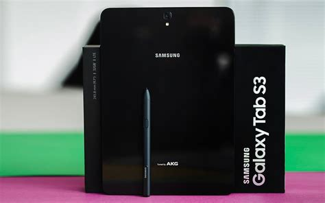 Tablet Samsung S3 samsung galaxy tab s3 review a near work tool