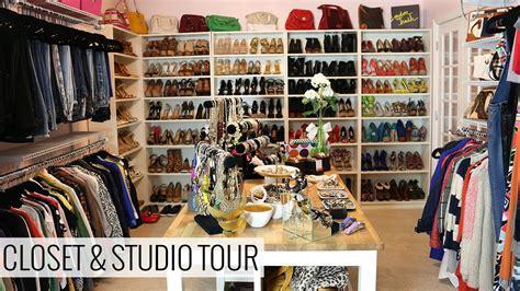 closet and studio tour