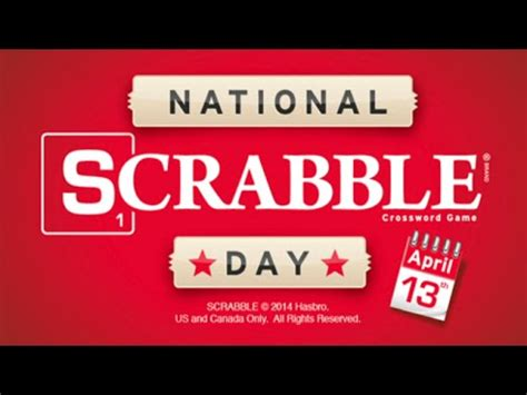 scrabble day national scrabble day