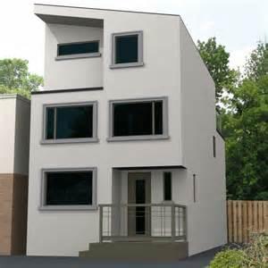 Modern Window Sill Modern Home With Minimalist Style Stucco Trim And Window