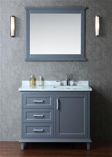 Gray Shaker Style Bathroom Vanities A Hot Bathroom Trend Shaker Style Vanity Bathroom