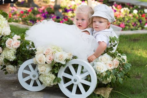 Pictures Of Wedding Wagons For Flower by Flower Ring Bearers Photos Flower Ring