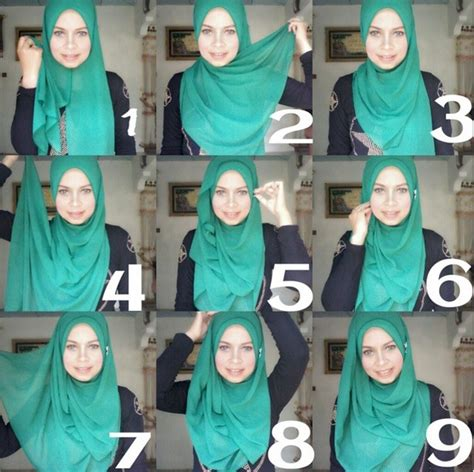 video tutorial hijab simple casual easy casual everyday hijab tutorial hijab fashion
