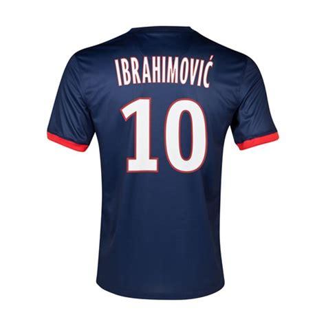 Shirts C 10 13 14 by 13 14 Psg 10 Ibrahimovic Home Soccer Jersey Shirt