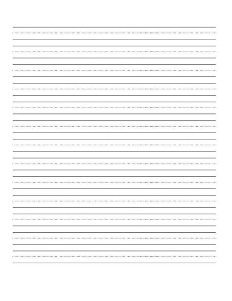 blank handwriting sheet kids pinterest