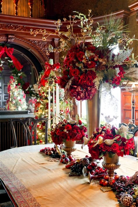christmas decoration restaurant ideas holliday decorations decorated in an old house in new york very well for