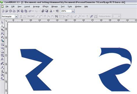 membuat logo rcti coreldraw membuat logo rcti dengan coreldraw blog yona ferdiansyah