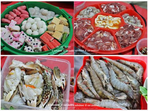 steamboat ingredients monthly gathering cny steamboat feast recipe recipes