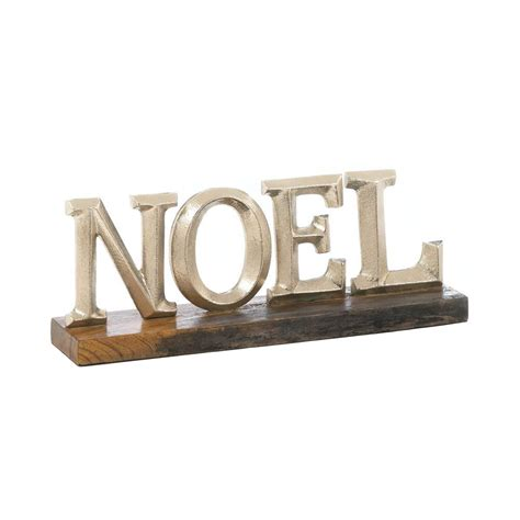 wholesale gifts and home decor noel block letter decor at all wholesale gifts