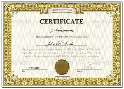 gold certificate template gold certificate template www pixshark images