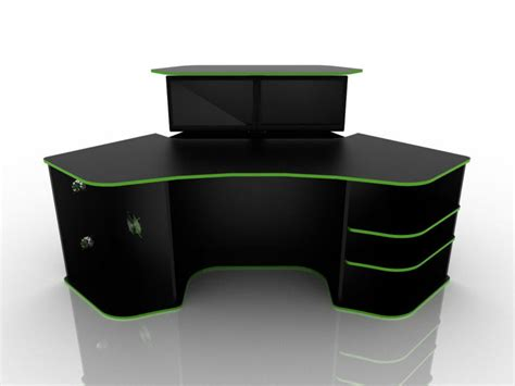 azaming computer desk best gaming desk