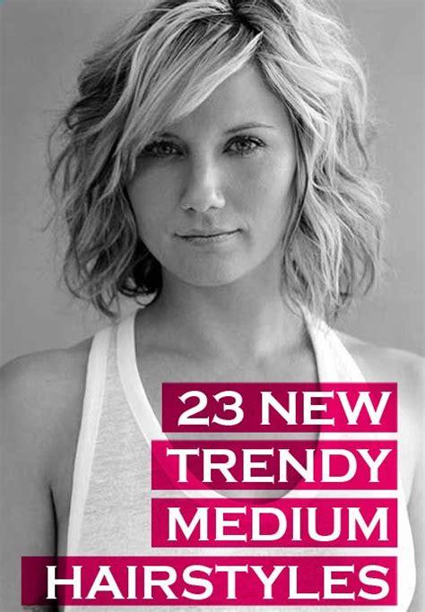 23 Trendy Medium Haircuts For Women Circletrest   23 trendy medium haircuts for women circletrest hair