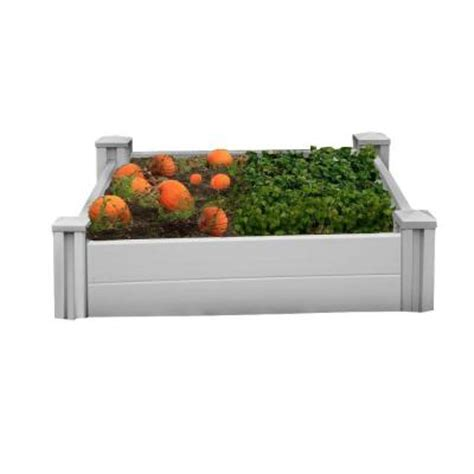raised garden beds home depot new england arbors sutton raised garden bed va68228 the