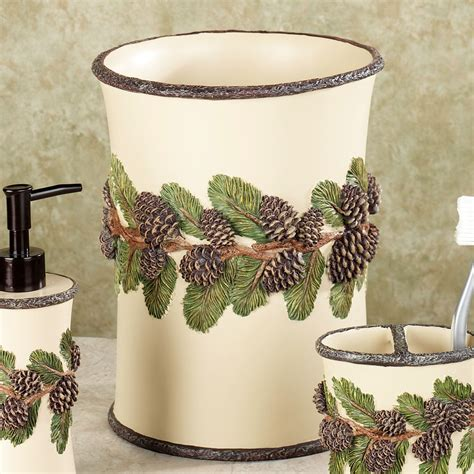 pinecone bathroom accessories pinecone bathroom accessories pine cone bathroom accessories home design gallery