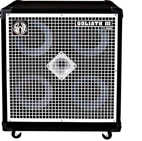 4 ohm speaker cabinet speaker cabinet bass swr bass goliath iii 4 ohm