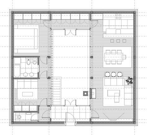 house plans with atrium in center aeccafe archshowcase solar atrium house by studio alfirevic