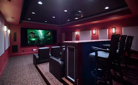 interesting media rooms  theaters  bars home