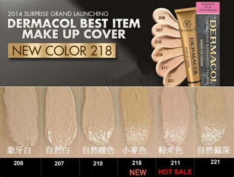 dermacol make up cover foundation 30g 11street malaysia