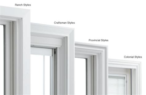 Interior Door Frame Styles by Pella Pre Finished Window Trim Buresh Home Solutions