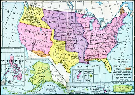 united states in 1783 map territorial growth of the united states