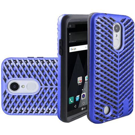 Armor Hybrid Shockproof Lg K4 Putih for lg k4 2017 k8 2017 phone zigzag hybrid armor shockproof cover ebay