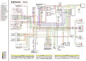 электросхема kawasaki мотоциклы схема электрооборудования