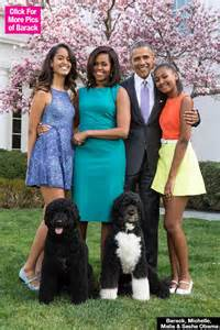 first family obama first family easter portrait michelle malia sasha