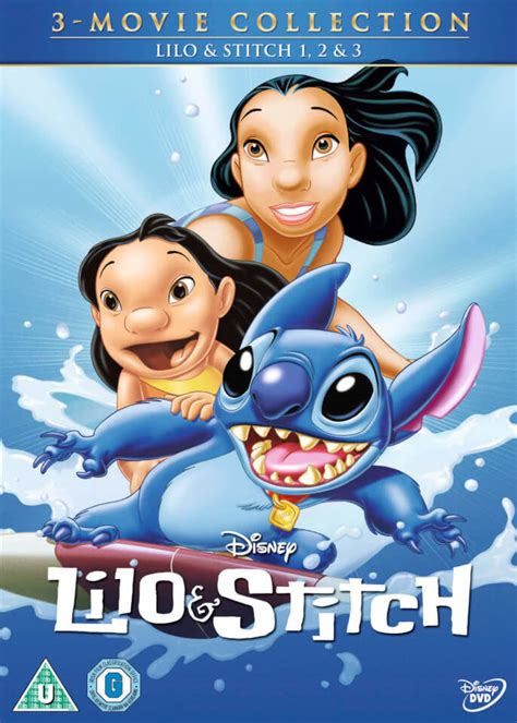 lilo  stitch lilo  stitch  stitch   dvd zavvi uk