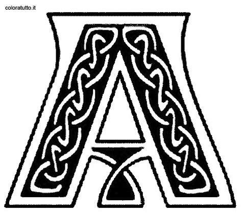 alfabeto celtico lettere alfabeto celtico 1 disegni per bambini da colorare