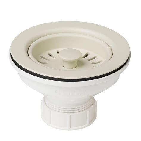 1 1 4 to 1 1 2 sink drain adapter kraus 4 1 2 in kitchen sink strainer in beige pst1 bg
