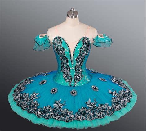 Handmade Ballet Tutus - professional classical ballet tutu costume green esmeralda