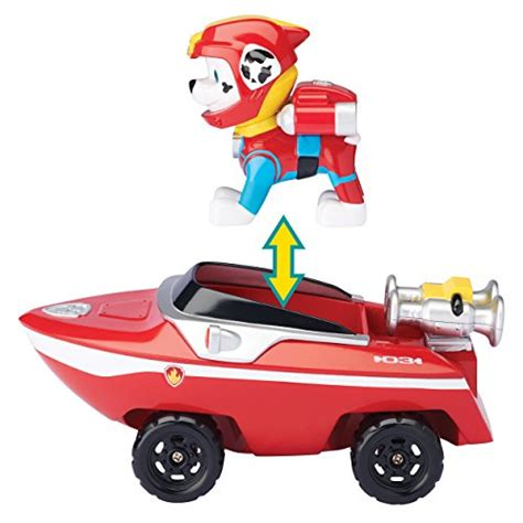paw patrol boat how to get wheels out paw patrol marshall s transforming sea patrol vehicle